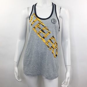 NIKE DRI-FIT PITTSBURGH STEELERS RACERBACK TANK